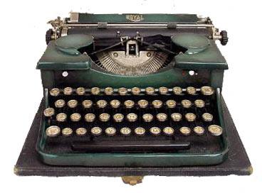 Alan Turing's Typewriter