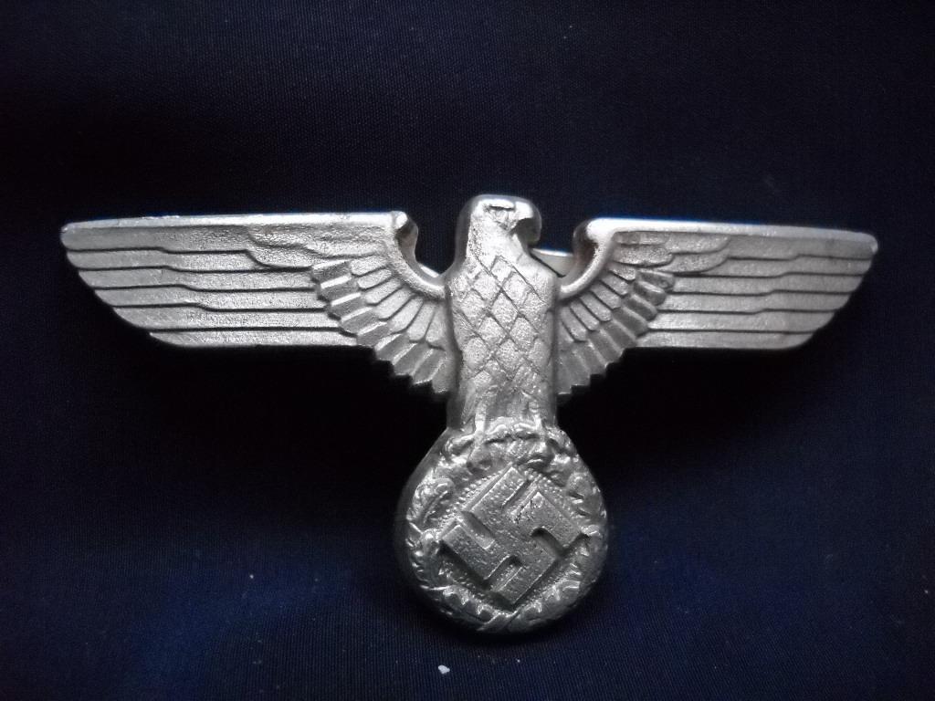 Adolf Eichmann's Eagle Insignia Badge