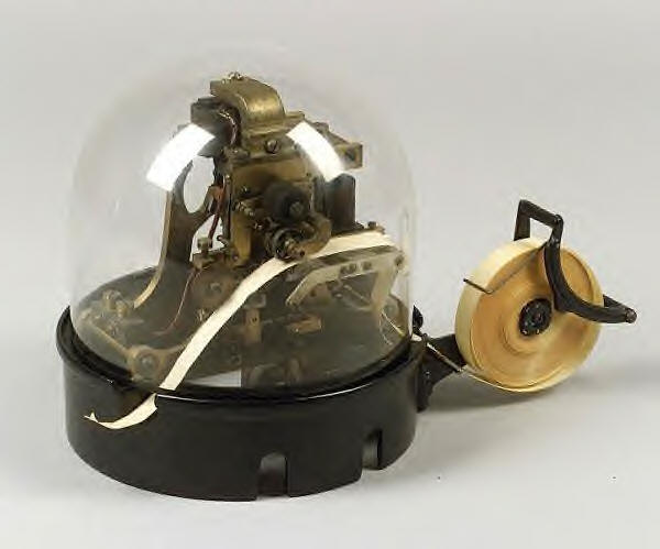 Arthur Zimmermann's Ticker-tape Machine