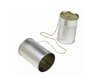 Charles Pearson's Tin-Can Telephone