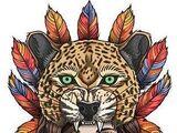 Ekpe Leopard Headdress