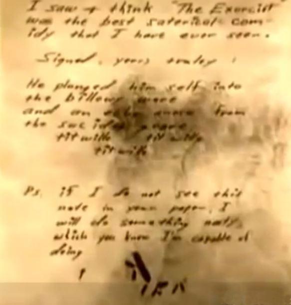 Ben Kuhl's Letter