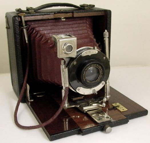 Arnold Genthe's Camera and Film