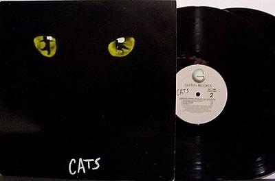 """""""Cats"""" Vinyl Record"""