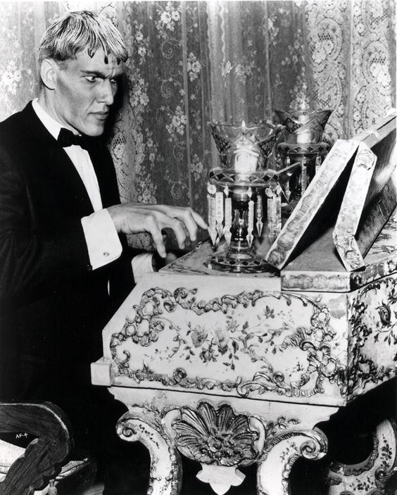 Charles Addams' Harpsichord