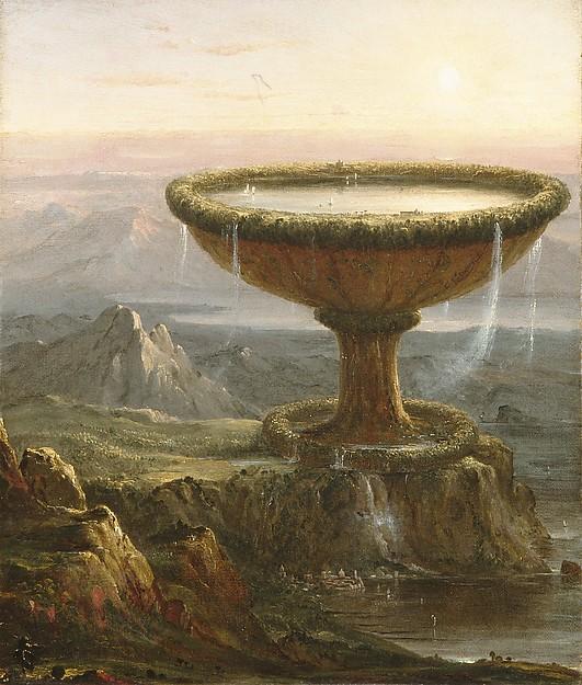 """Thomas Cole's """"The Titan's Goblet"""""""
