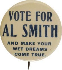 Al Smith's 1928 Campaign Badges