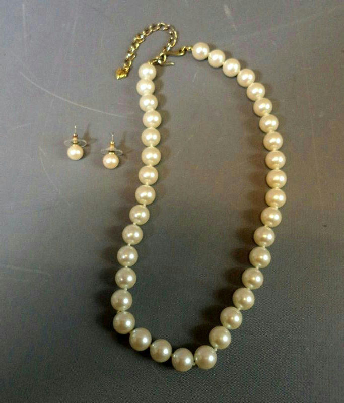 Irene Frederic's Pearl Necklace