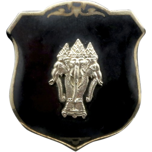 Plaek Phibunsongkhram's Niello Scarf Clip