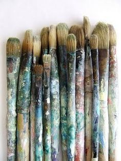 Carl Ray's Paint Brushes