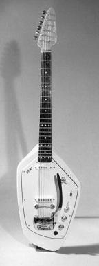 Ian Curtis's Vox Phantom Special VI Guitar