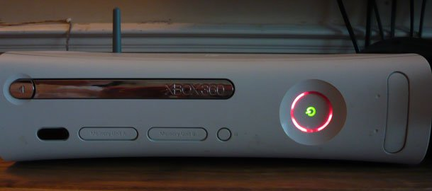 Red Ringed Xbox 360