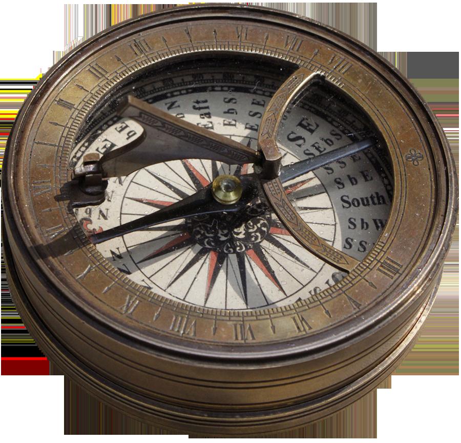 Hernando de Soto's Dry Compass