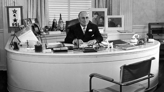 Louis B. Mayer's Desk and Chairs