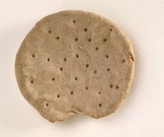 Preserved Hardtack from the Civil War