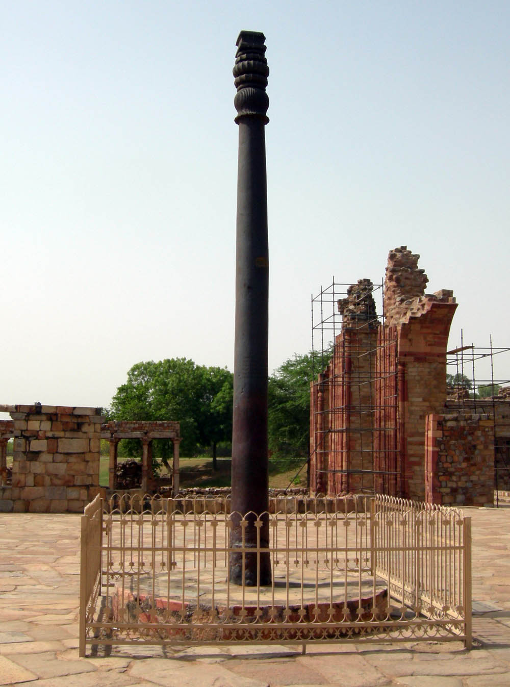 Original Iron Pillar of Delhi