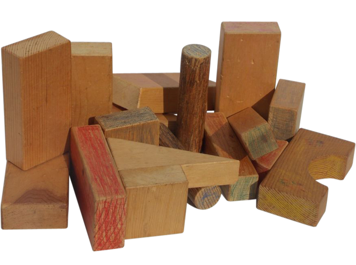 Ole Kirk Christensen's Wooden Blocks