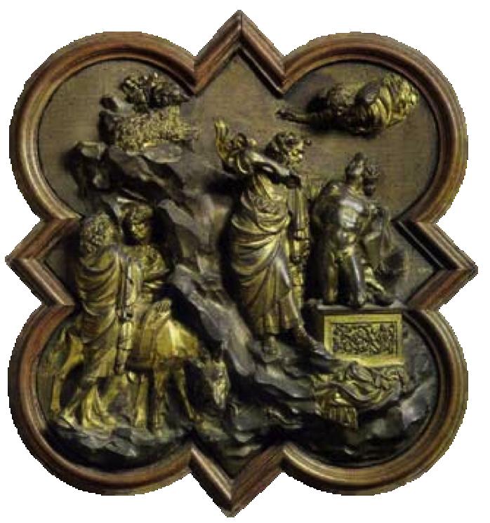 Lorenzo Ghiberti's Bronze Panel