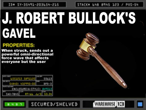 Robert Bullock's Gavel