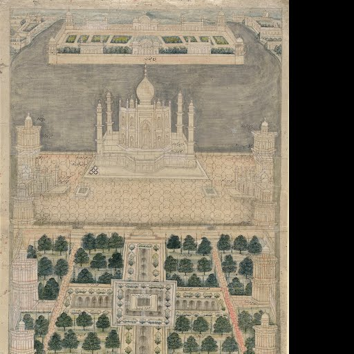 Blueprint for the Taj Mahal