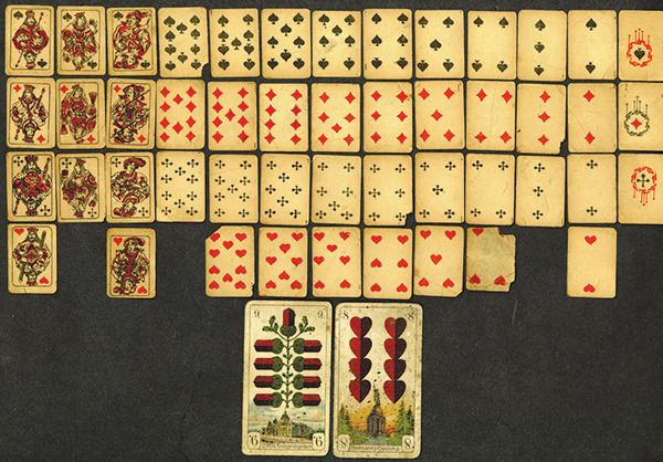 Doc Holliday's Playing Cards
