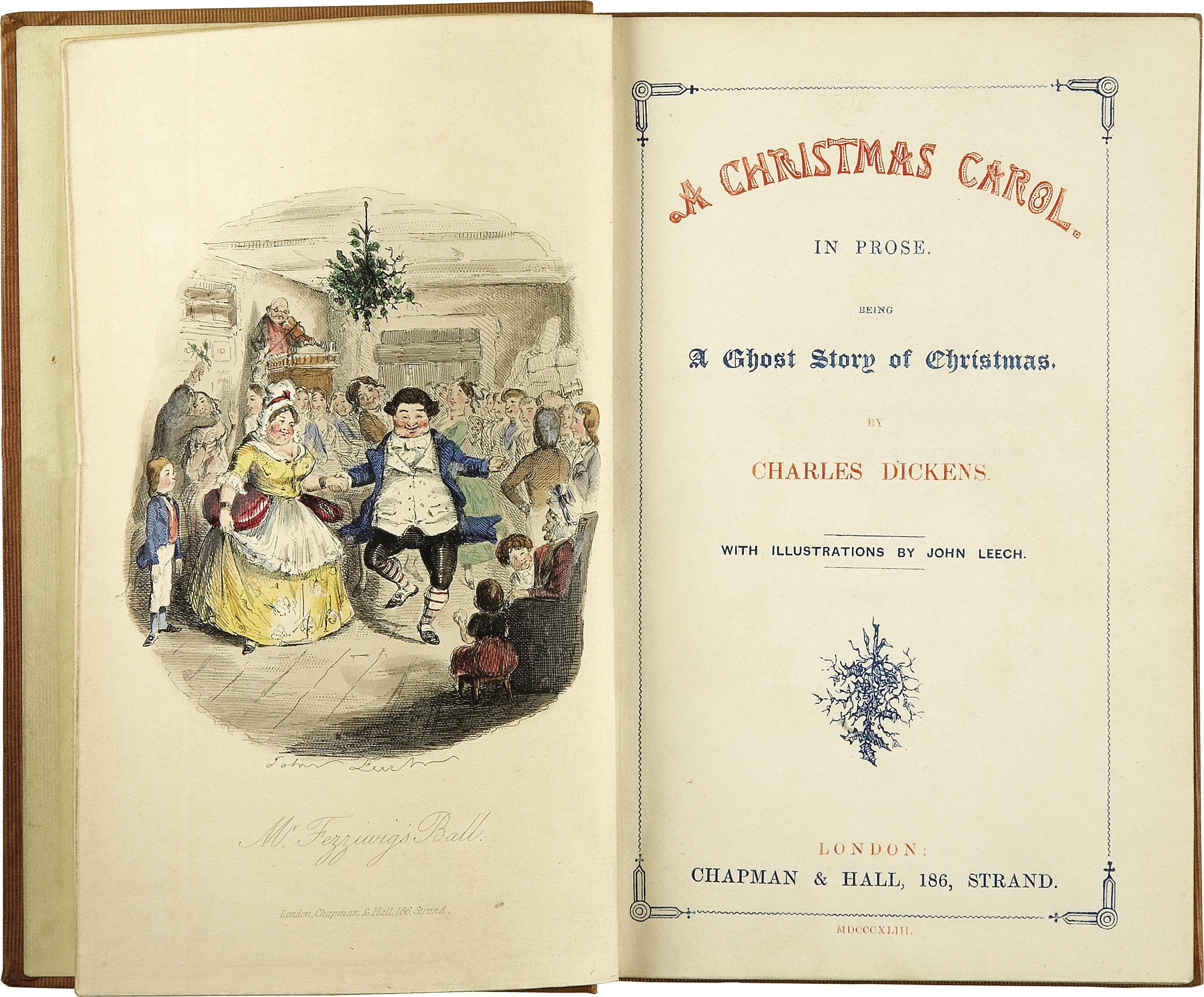 """Original Copy of """"A Christmas Carol"""""""