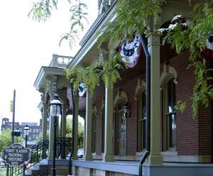 Front Porch from William McKinley's House