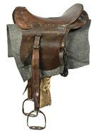 Jessie James' Saddle
