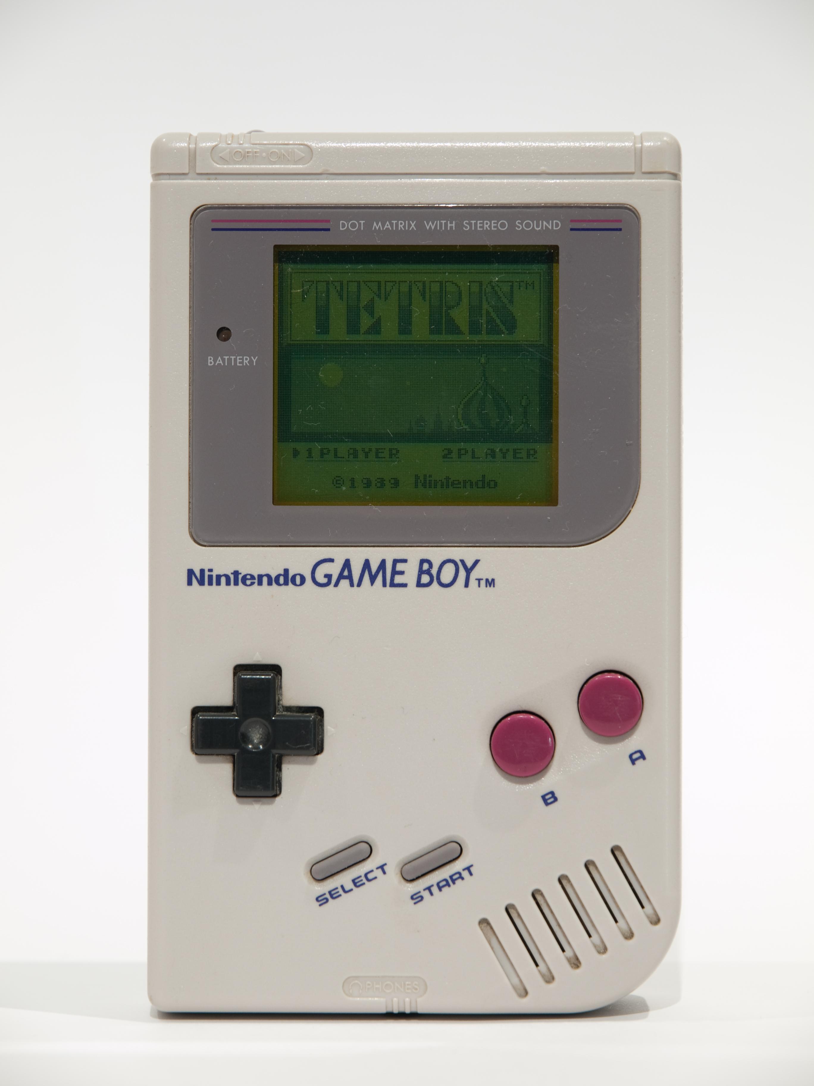 Aleksandr Serebrov's Nintendo Game Boy & Copy of ''Tetris''