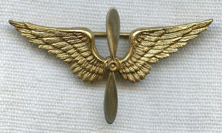 1920s US Air Service Pin