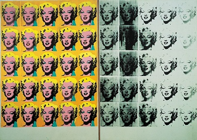 """Andy Warhol's """"Marilyn Diptych"""""""