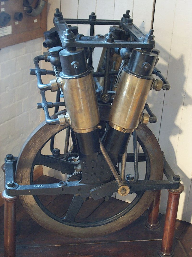 E. J. Pennington's Motorcycle Motor