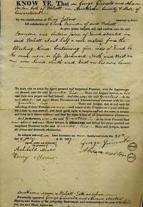 George C. Parker's Deed to the Brooklyn Bridge