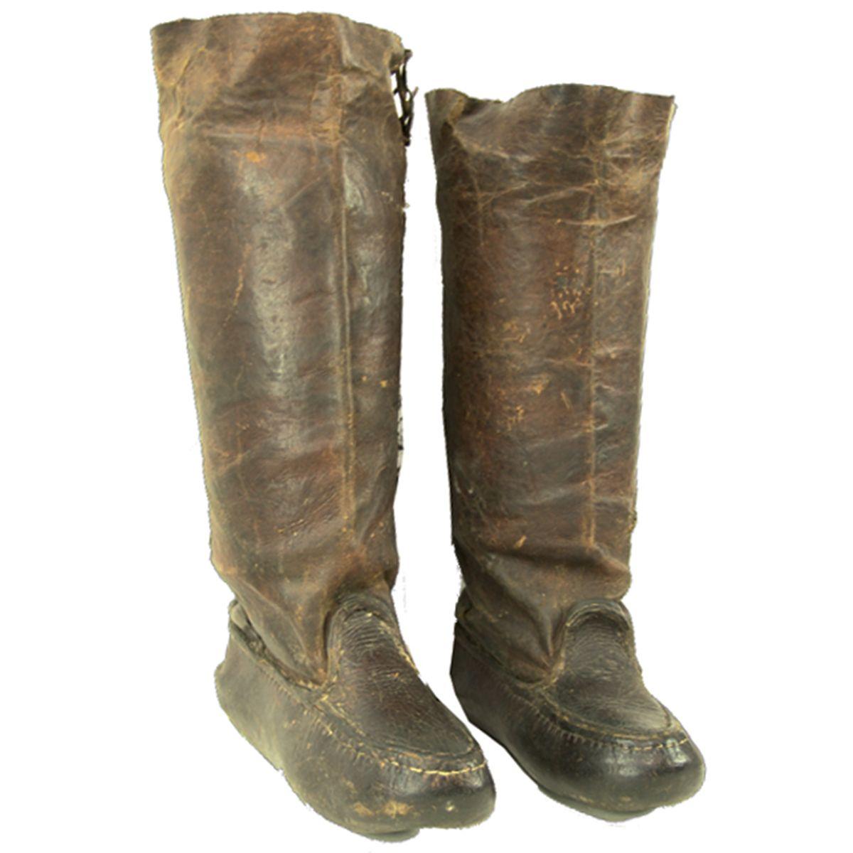 Besarion Jughashvili's Leather Boots