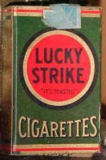 Rudolph Valentino's Cigarette