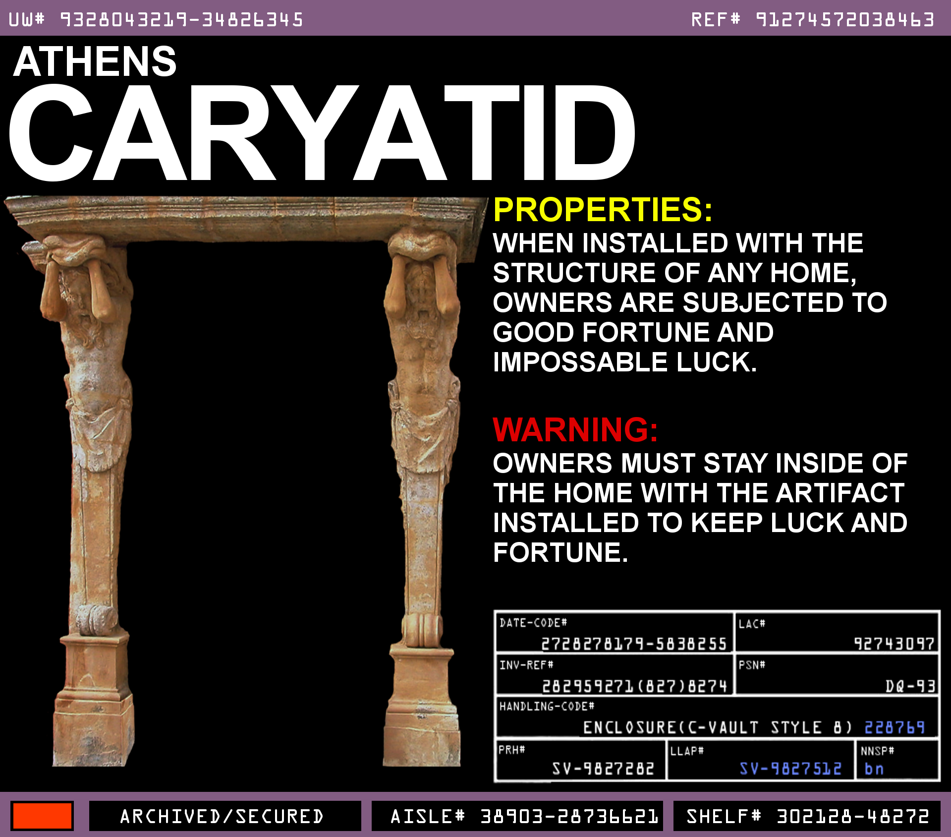 Athens Caryatid