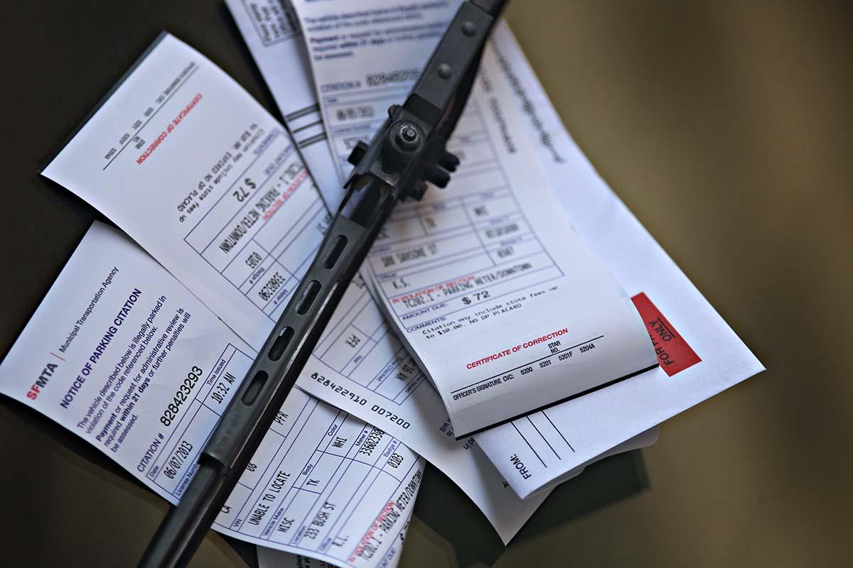 Chris Gardner's Parking Tickets