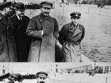 Nikolai Yezhov's Final Photograph with Joseph Stalin