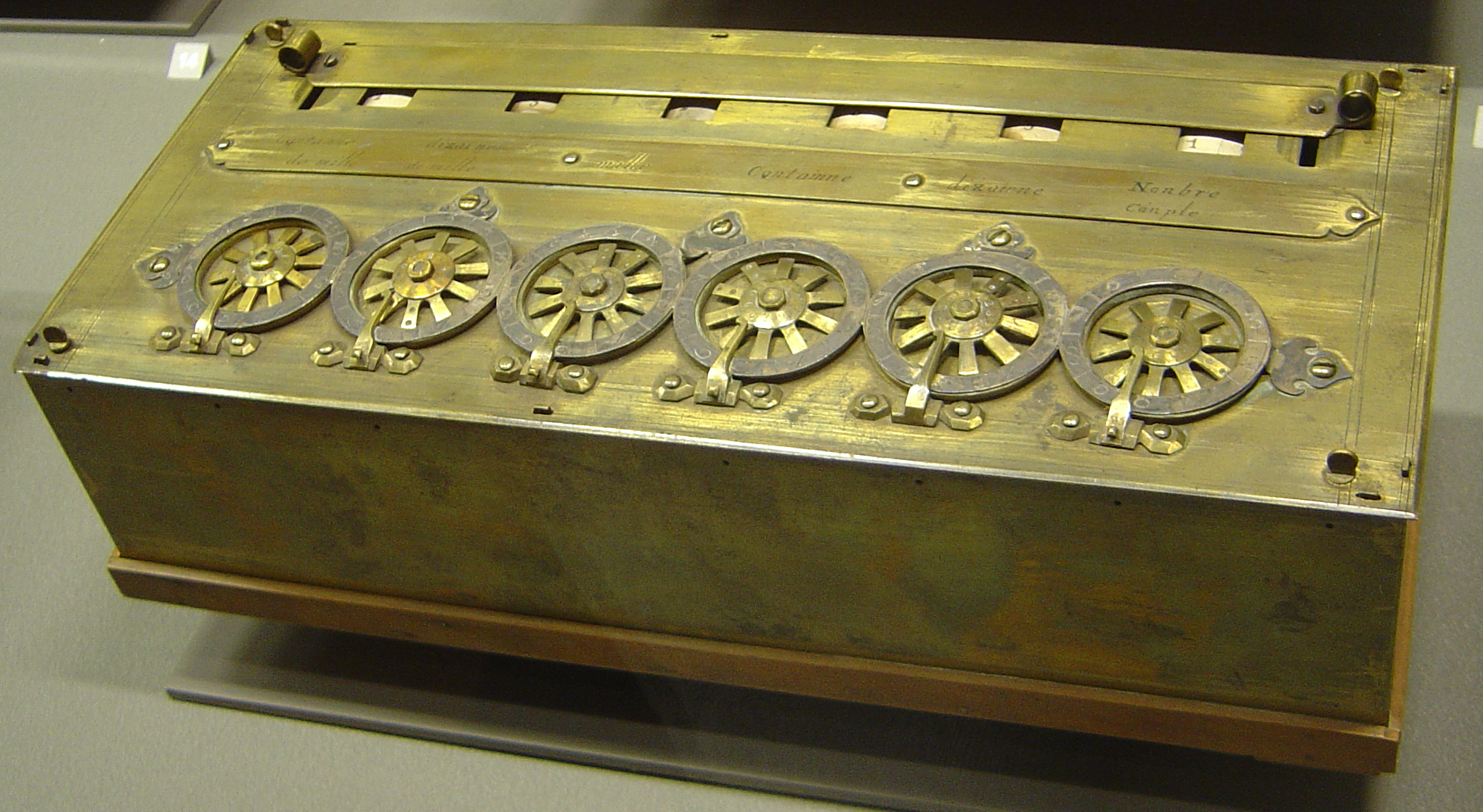 Blaise Pascal's Calculator
