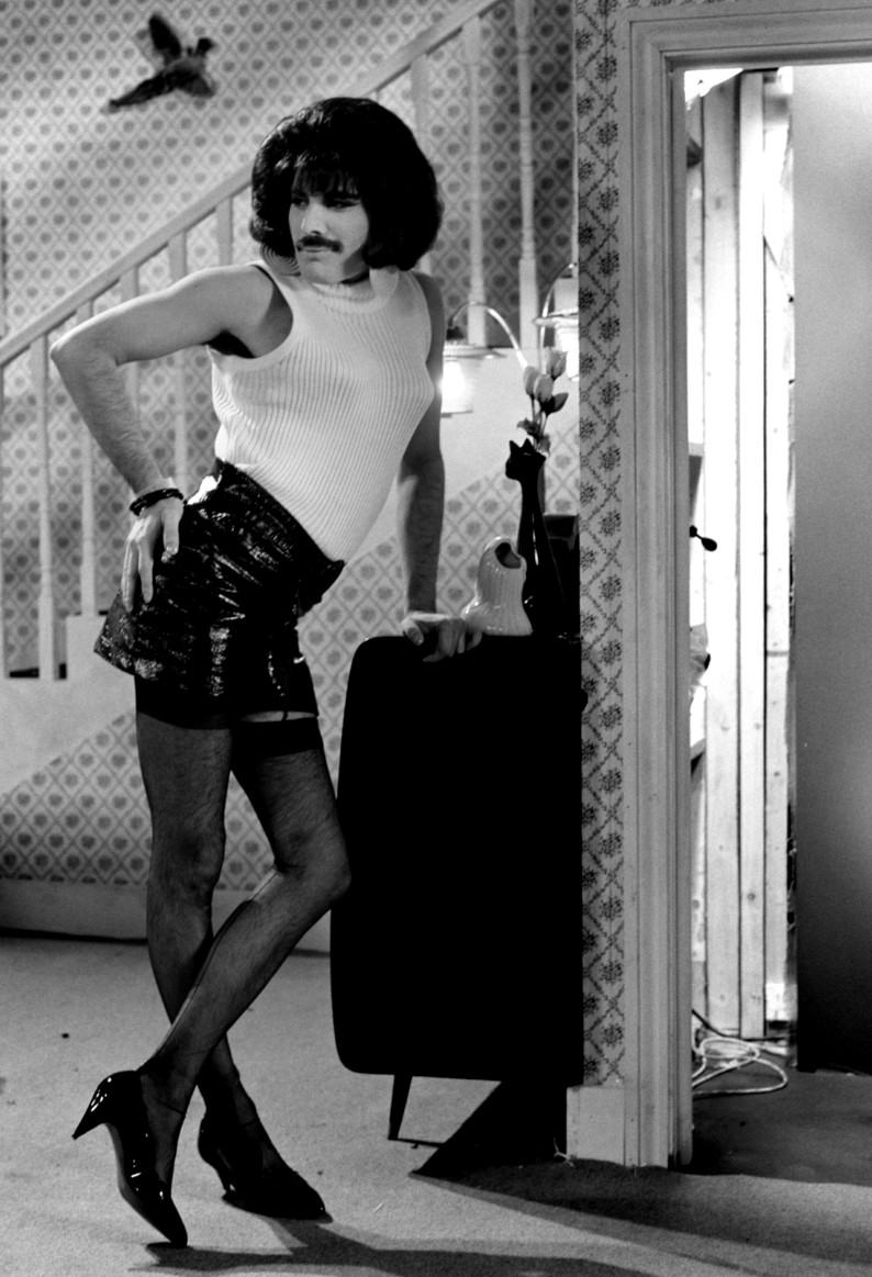Freddie Mercury's Moustache and Tights