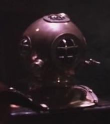 Private John Williams' Diver Helmet