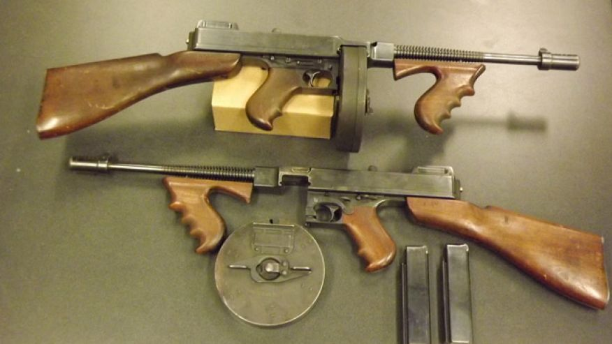 Al Capone's Machine Guns