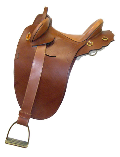 Washington Irving's Saddle