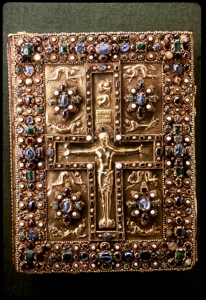 Cover of the Book of Kells