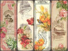 Elizabeth Wirt's Floral Bookmark