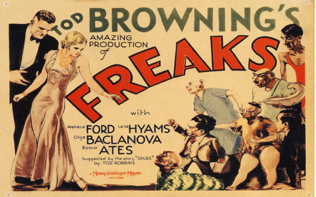 Film Reel of Freaks by Tod Browning
