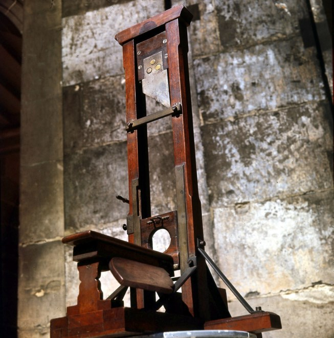 King Louis XVI's Guillotine