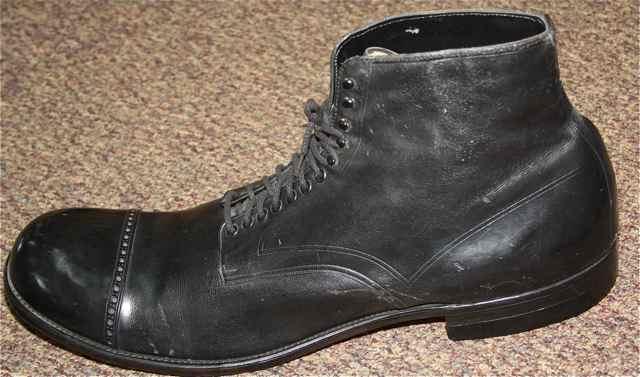 Robert Wadlow's Shoes
