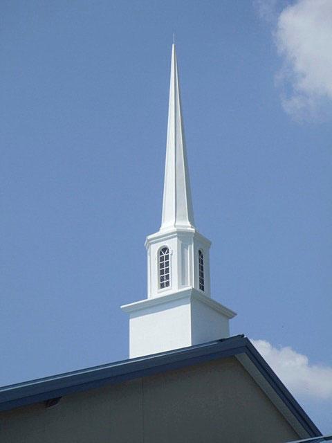 Elias Carter's Church Spire