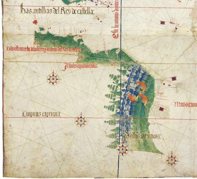 Pedro Álvares Cabral's Naval Map